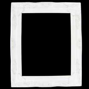 """11"""" x 14"""" Cream White Open Ornate Scatter Frame"""