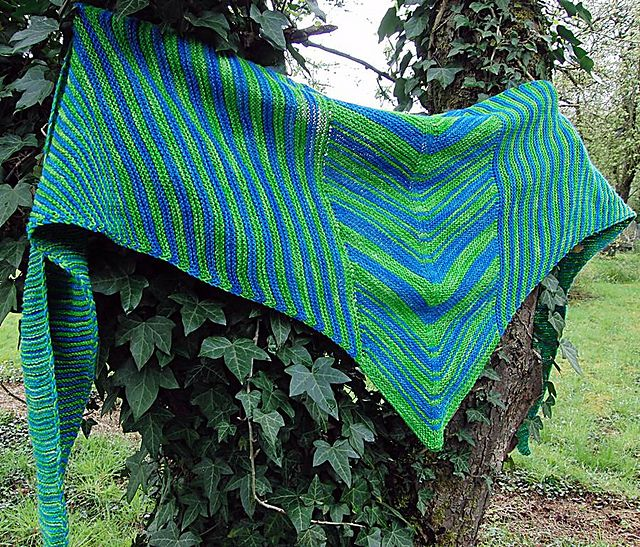 SEASIDE Shawl by Tatjana Günther - knit For free until May 1th !! - Die Anleitung ist bis zum 1. Mai. kostenlos !!