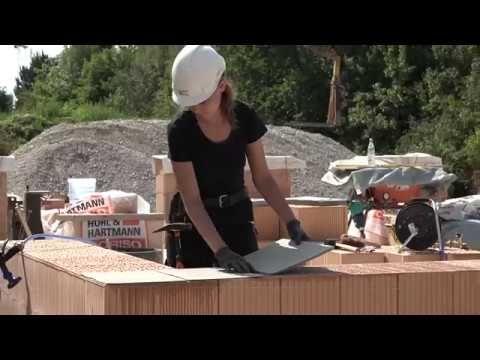 Richtig mauern mit dem Mörtelpad Mauerwerk errichten