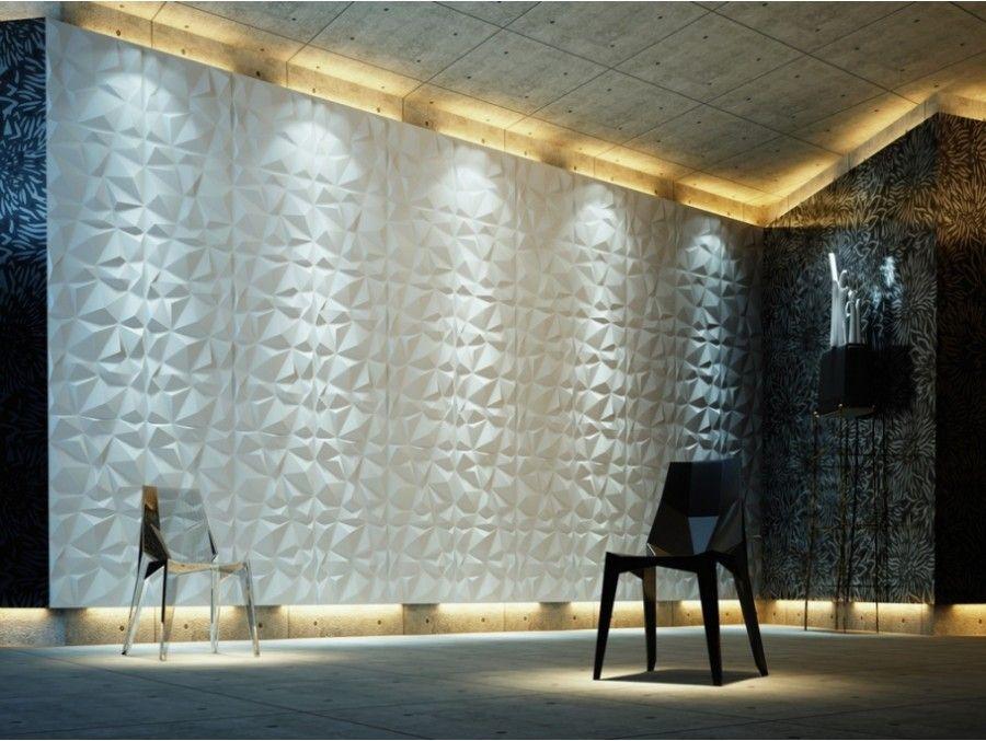Panneau Mural 3d Diamond Pvc Wanddeko Wandverkleidung 3d Wandplatten