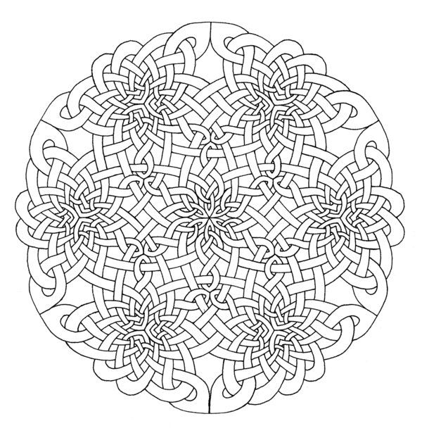 13 Spirals By Testedsubject On Deviantart Mandala Coloring Pages