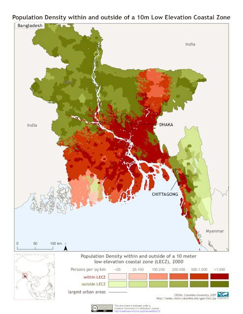 topographic map of bangladesh An Introduction To Riverbank Erosion And Flood In Kazipur And