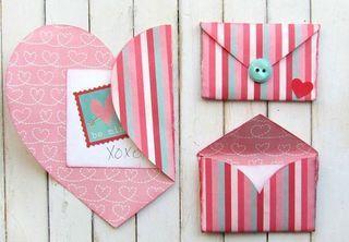 Envoltorios para regalos románticos