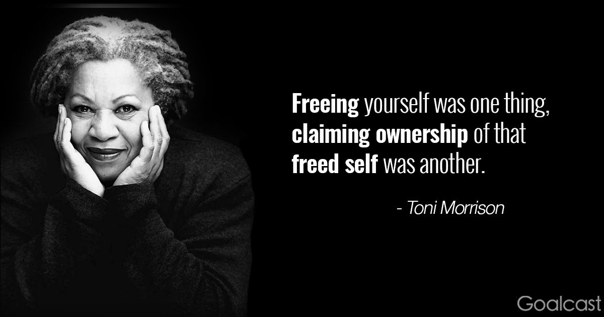 Toni Morrison Quotes Amusing 16 Toni Morrison Quotes To Make You Hold Your Head High  Da Project .