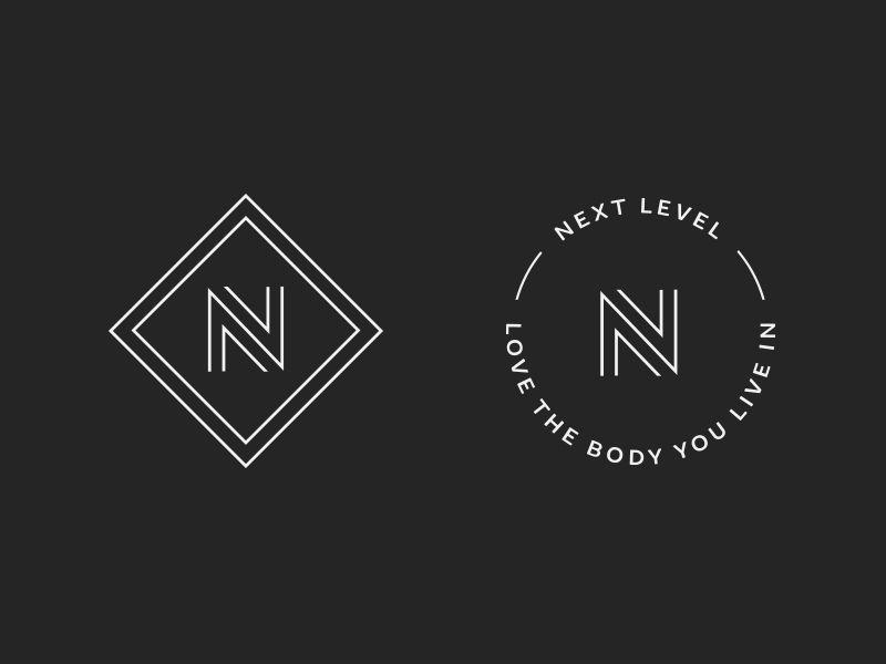 Next Level Marks N Logo Design Nutrition Logo Nutrition Logo Design