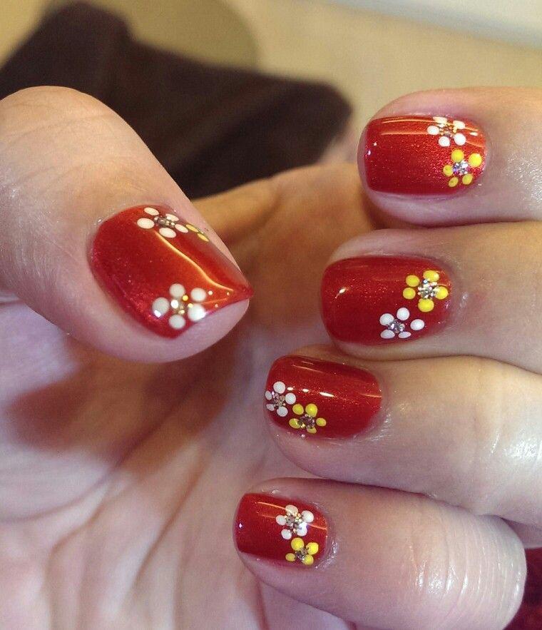 Chinese New Year 2014 | CNY Nails | Pinterest | Fun nails, Natural ...