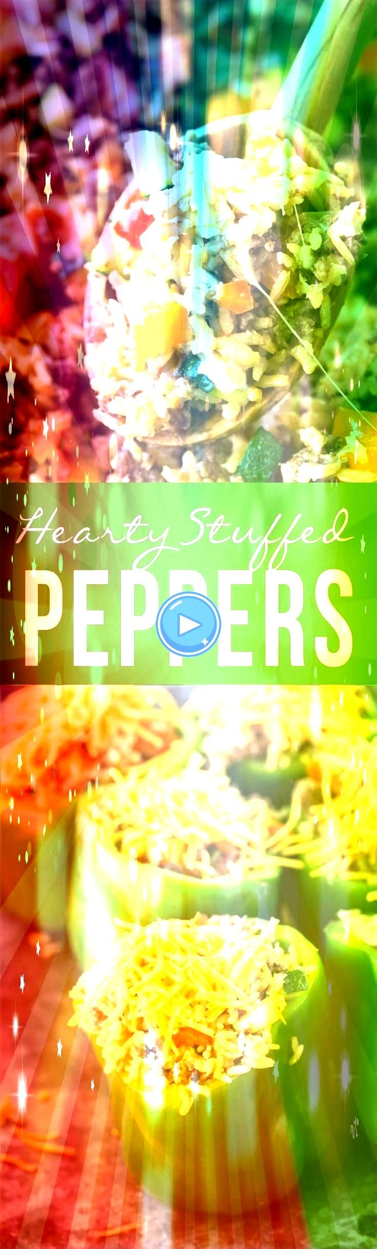 Peppers Omit rice Maybe add chopped tomatoes to stuffing mixt  Recipes  Quinoa Hearty Stuffed Peppers Omit rice Maybe add chopped tomatoes to stuffing mixt  Recipes  Quin...