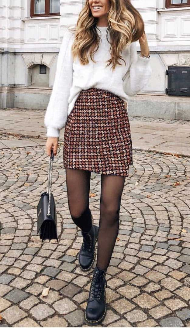 Photo of süße Winter Outfits 2019, Winter Outfits Ideen, Wintermode 2019 Damen, Schnitt …