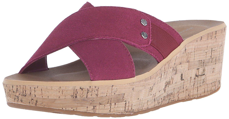 Rockport Women's Weekend Casuals Lanea Cross Slide Platform Sandal =>  Startling review available here :