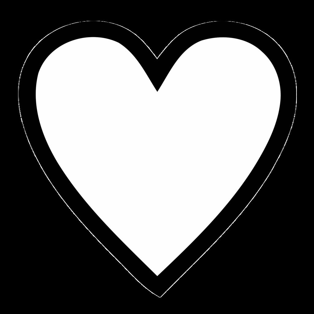 Black Outline Part 2 White Heart Outline Heart Outline Guys With Green Eyes