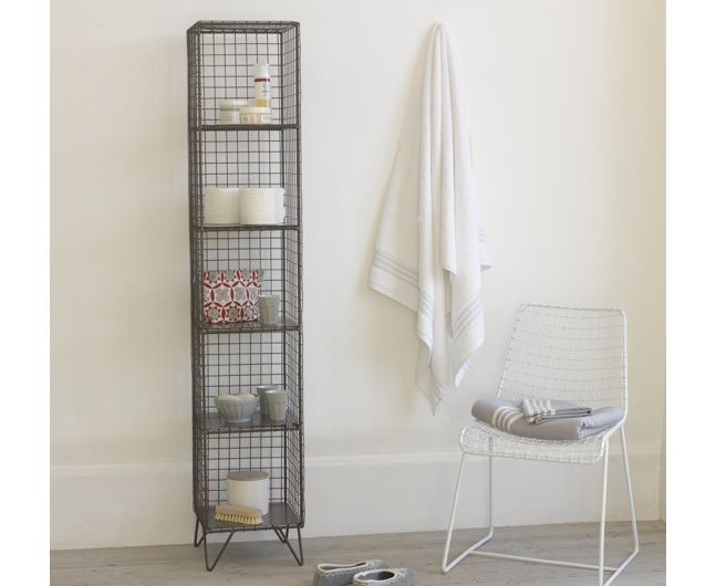 The Highwire Is A Lovely Looking Free Standing Bathroom Storage Rack Given  A Gorgeous Vintage Finish. Perfect To Store Your Squidgy Towels.