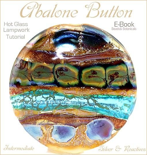 ABALONE BUTTON $5