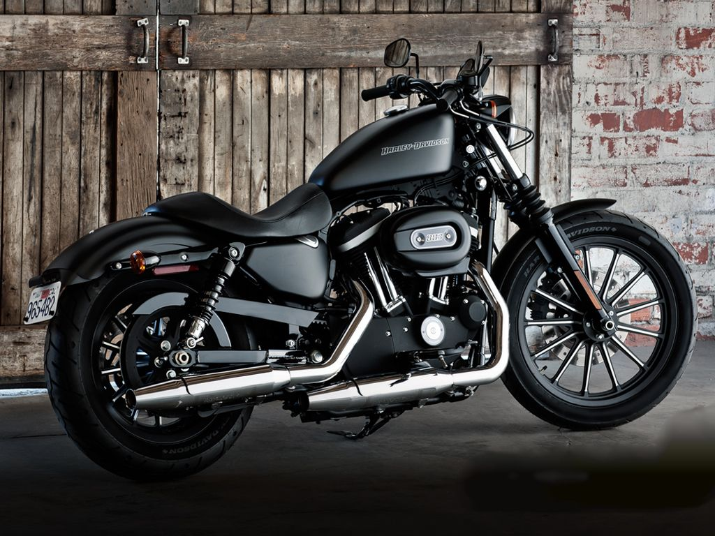 Harley Davidson Iron 833 - My bike, with modifications of course ...