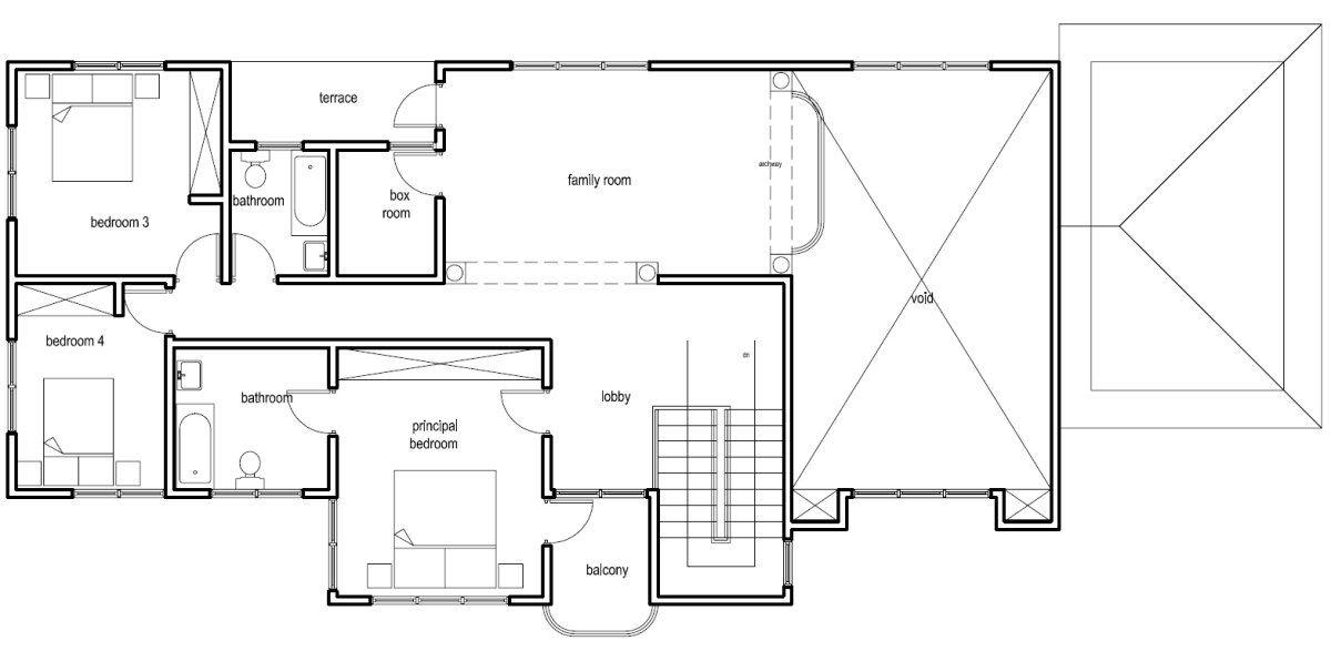 Ghana House Plans Nana Hemaa House Plan House Floor