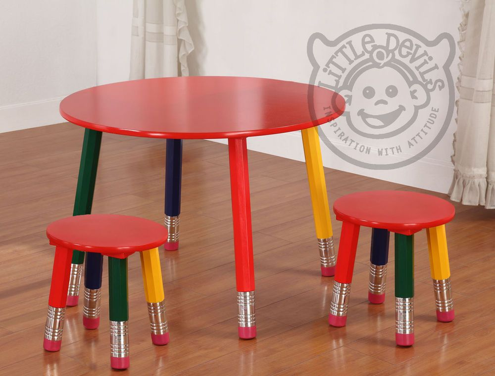 ROUND PENCIL CHILDS/CHILDREN S TABLE AND 2 CHAIRS for Kids DESK STOOL PLAYROOM & ROUND PENCIL CHILDS/CHILDREN S TABLE AND 2 CHAIRS for Kids DESK ... islam-shia.org