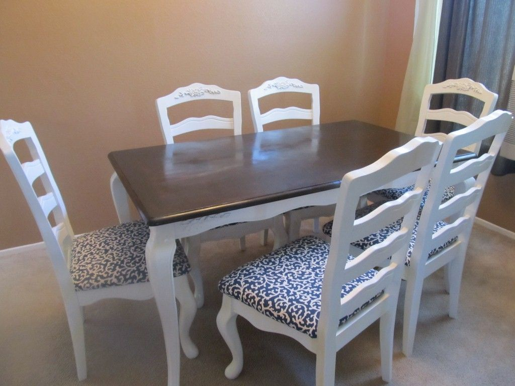 Before And After Diy Dining Table Makeover  Dining Table Cool Diy Dining Room Table Makeover Inspiration Design