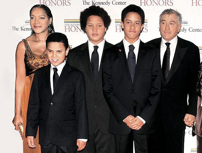 Robert De Niro family ...
