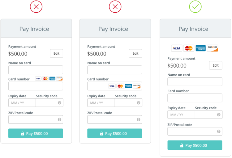 The Anatomy Of A Credit Card Payment Form  Mobile App