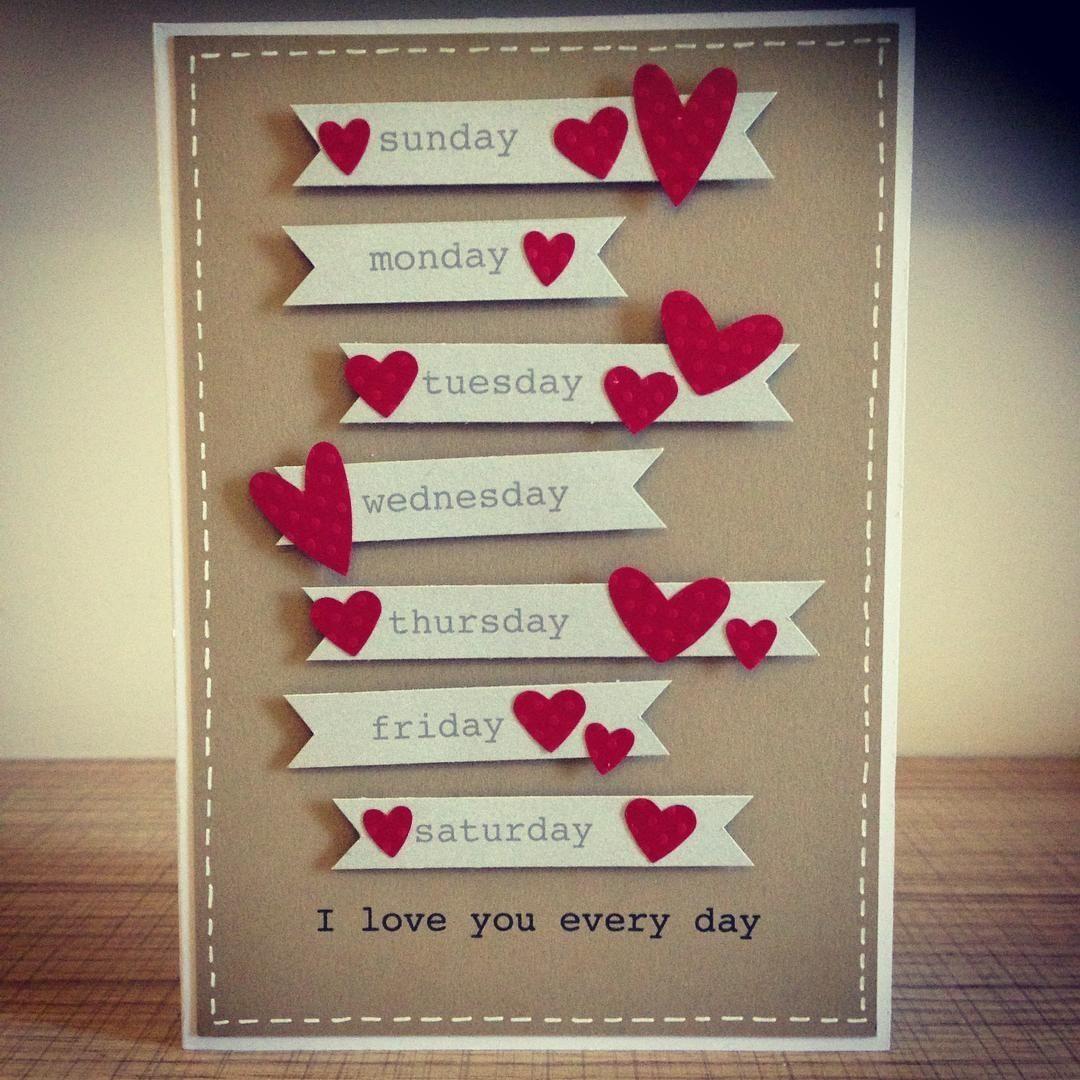 Inspiration Handmade Anniversary Cards for Husband Design