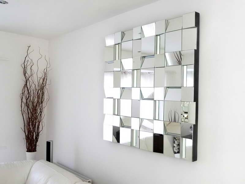 Best interior decorating mirrors ideas cool wall for Mirror wall decoration ideas living room