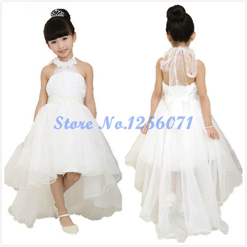 Lovely Halter Beading Flower Dresses Pretty Flowers Dress Vestidos De Comunion For