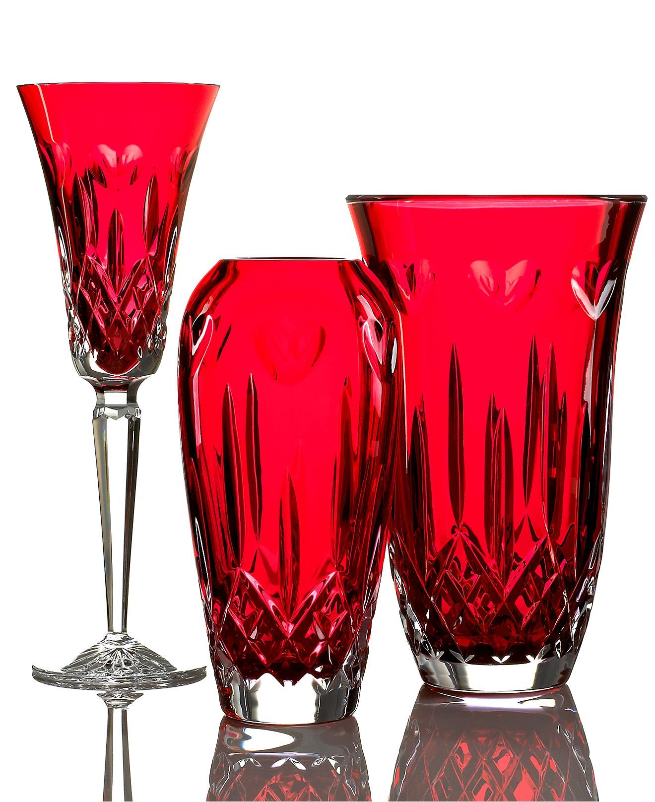 Pin By Vicki Hutchison Schaub On Ruby Red Glass Waterford Crystal Crystal Glassware Crystal Gifts
