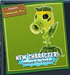 Plants vs Zombies garden warfare commando pea - Bing Images