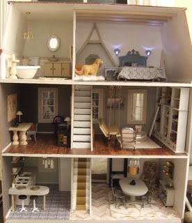 Dollhouse is almost ready for pictures - Little Victorian