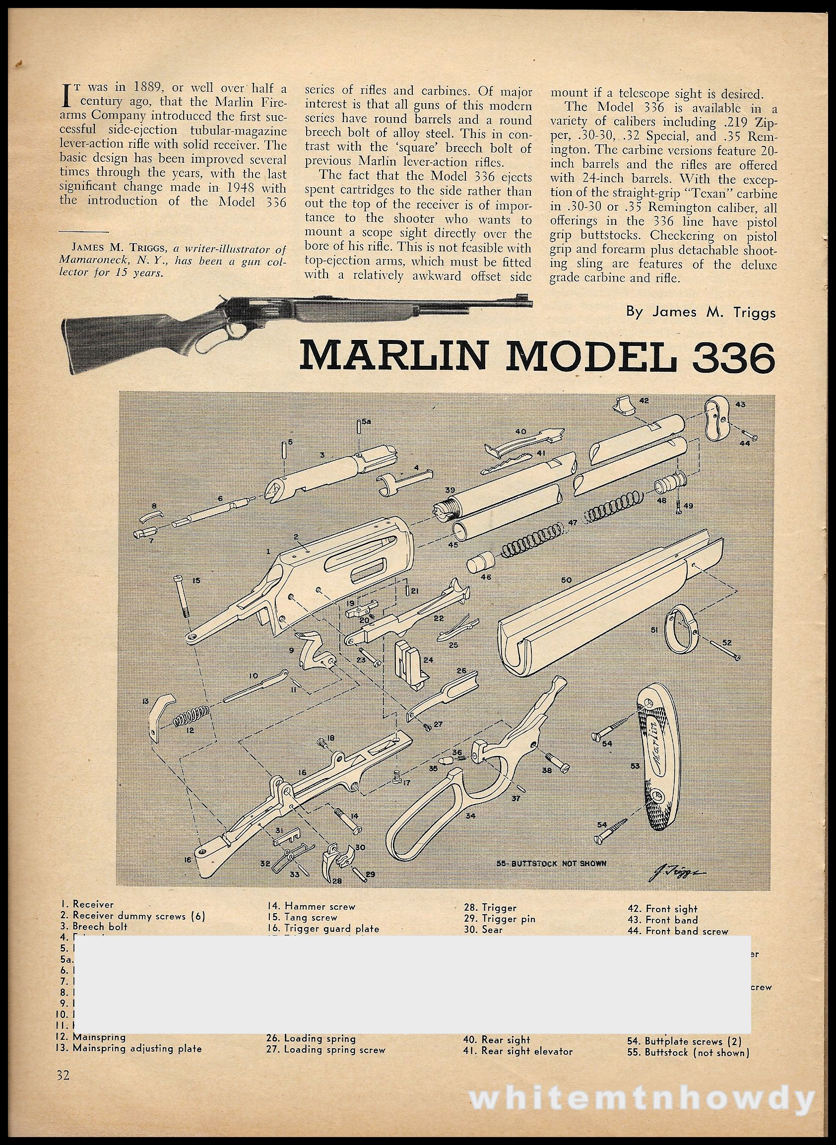 Pin Marlin Model 336 Parts Diagram On Pinterest Wiring Diagrams Circuit Board Stock Image 20108511 Exploded List Assembly Article Other Collectibles Rh Com 39a