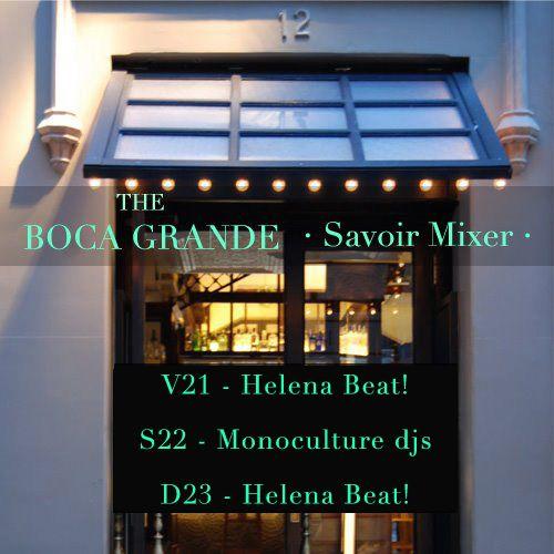 Programación de Boca Grande 'Bains Douches' para este fin de semana (21-23/09/2012) #WeLoveMusic