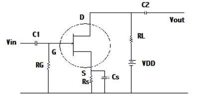 JFET as amplifier jfet Pinterest Circuit diagram