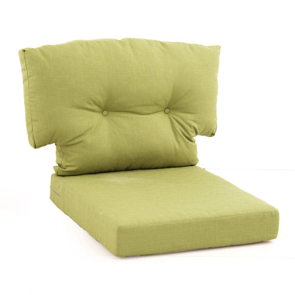 Deck Chairs Replacement Cushion Martha Stewart Living Charlottetown Green Bean Replac Outdoor Swivel Chair Outdoor Lounge Chair Cushions Outdoor Chair Cushions
