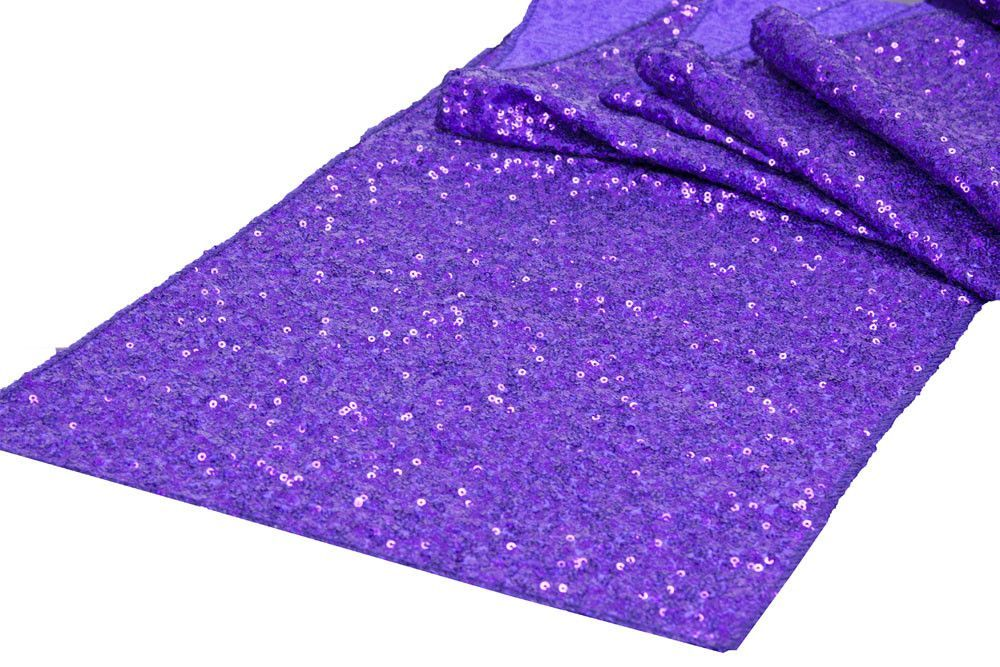 Glitz Table Runners - Fuchsia