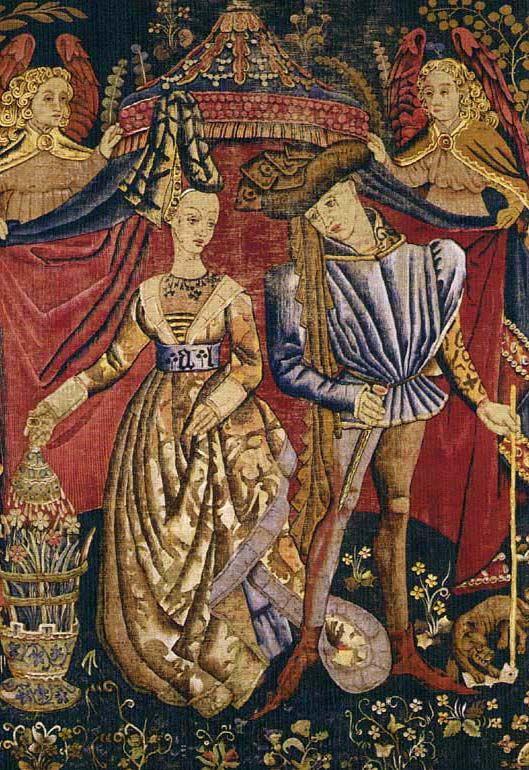 Charles D Orleans Et Marie De Cleves Tapisserie Medievale Alienor D Aquitaine Histoire En Francais