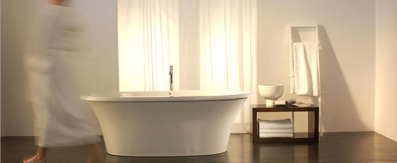 Bainultra Sanos 7240 Two Person Large Freestanding Air Jet Bathtub For Your Master Bathroom