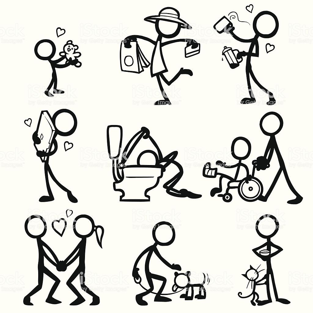 Stick Figure People Relationships Royalty Free Stick Figure Stock Vector Stick Figure Drawing Stick Drawings Stick Figures