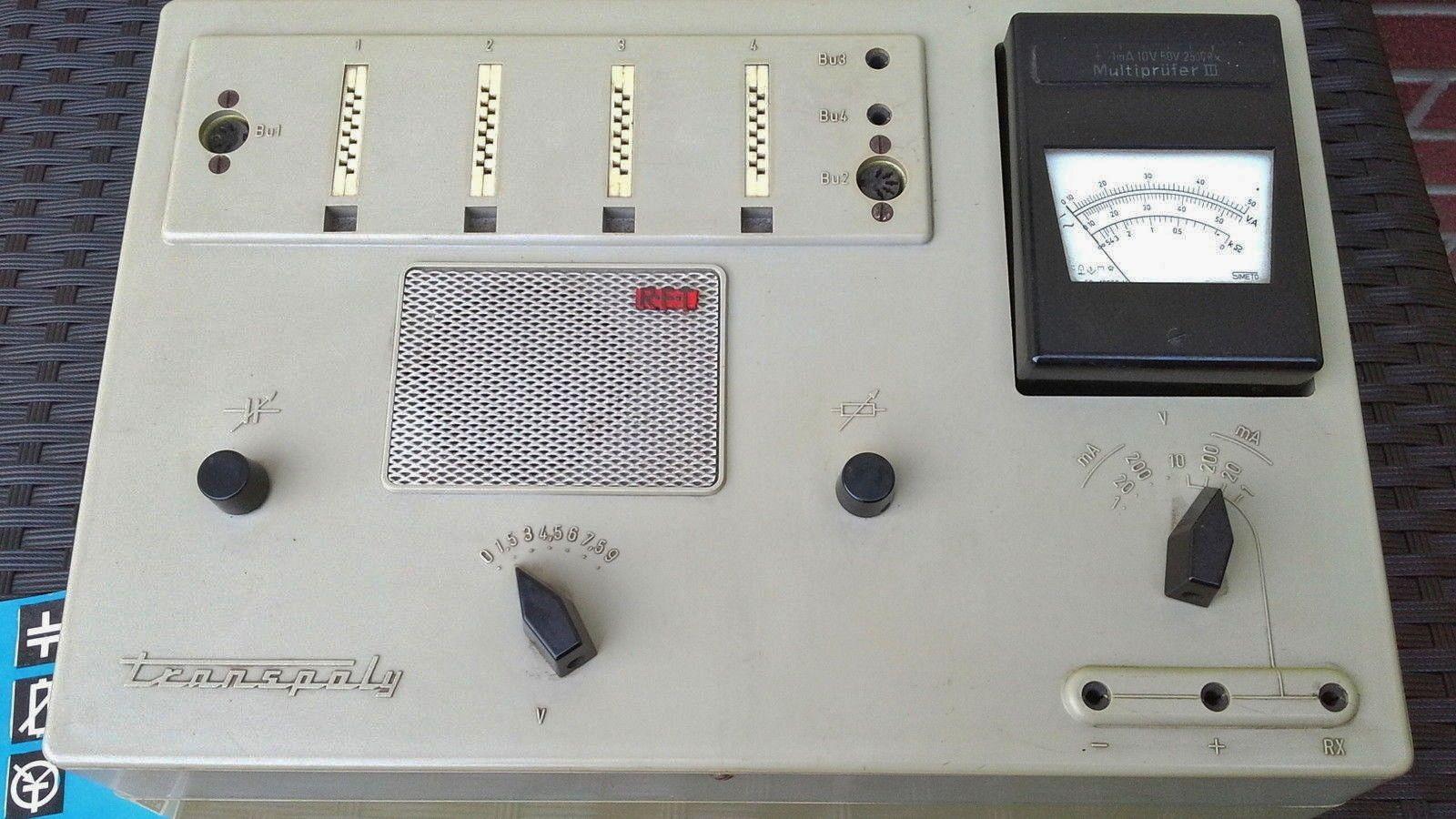 Seltener Elektronic Baukasten, 60er Jahre.