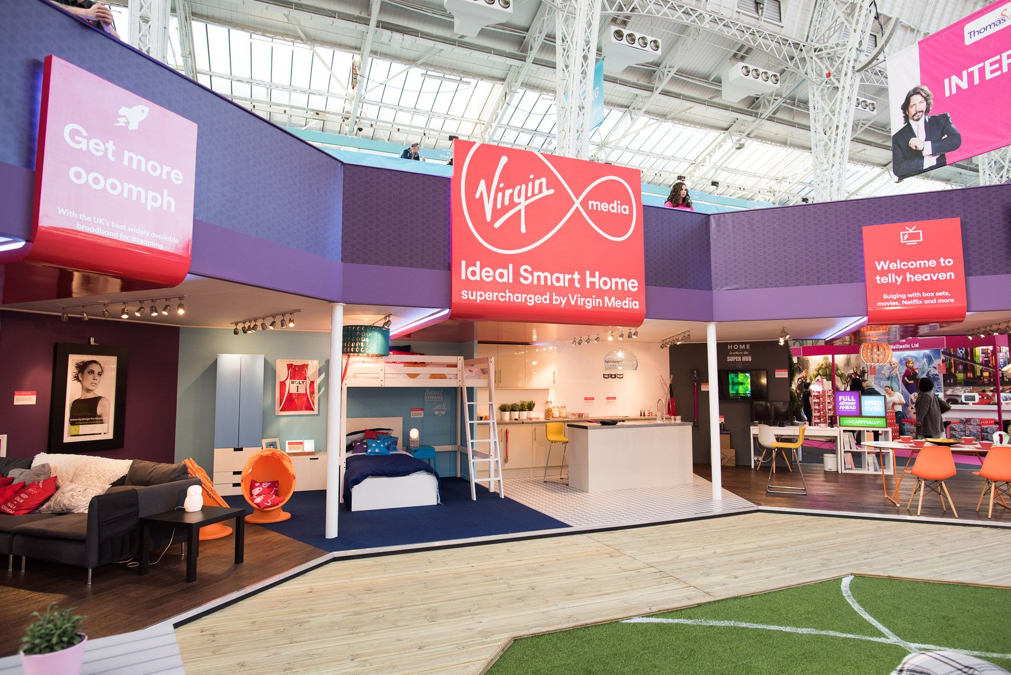 our ideal smart homes at the ideal home show london olympia 2015