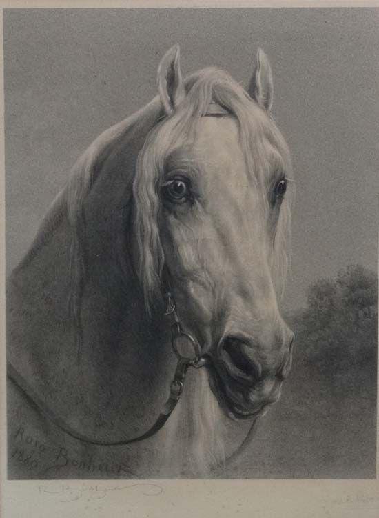 Three Grays Arabian Horse Equestrian art mouse Pad