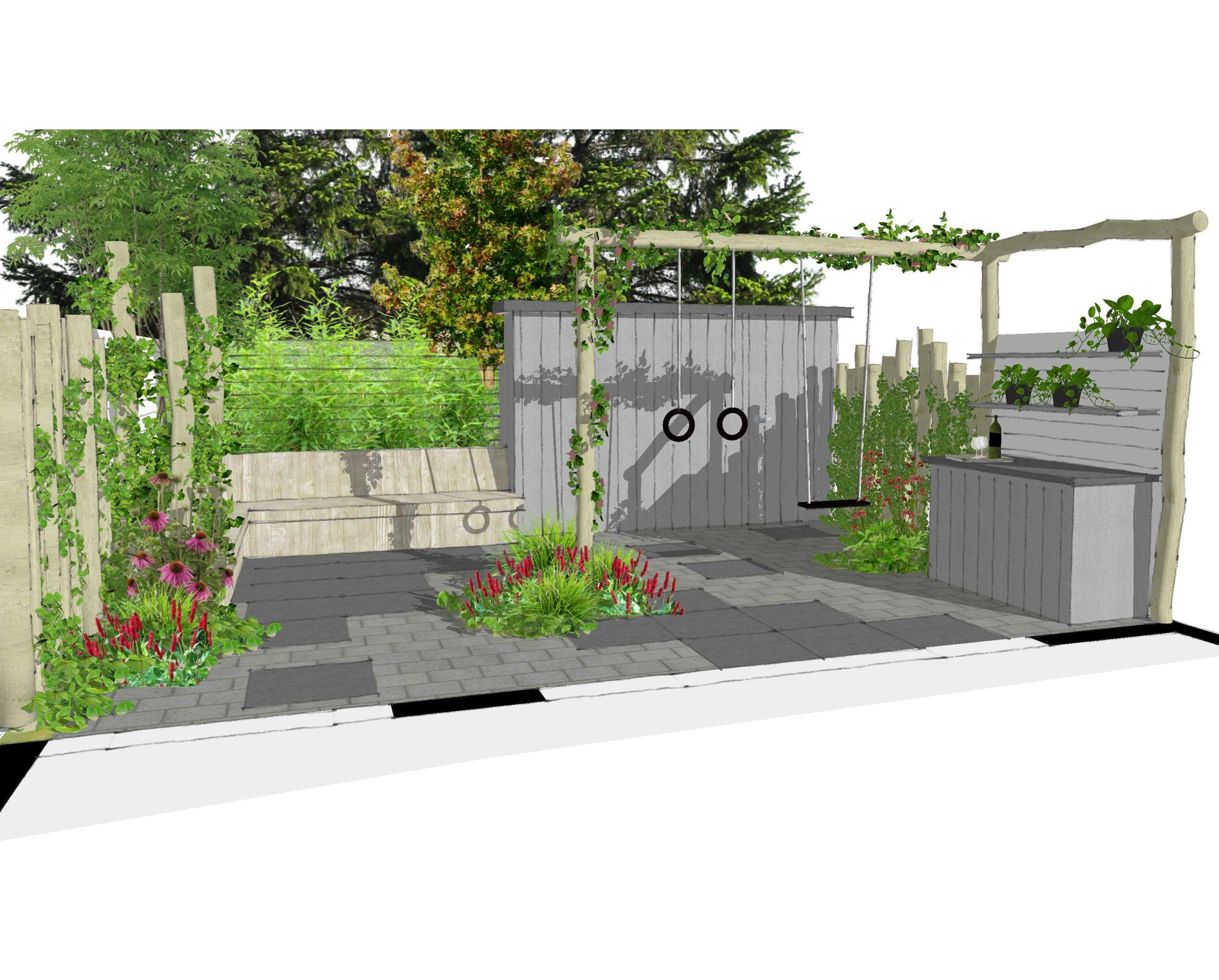 Sketchup tuin ontwerpen for Kindvriendelijke tuin ontwerpen