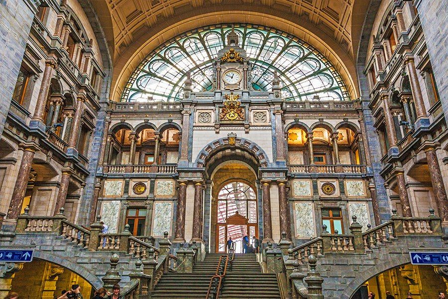 Marble In Antwerpen : The world s most beautiful train stations architecture houses