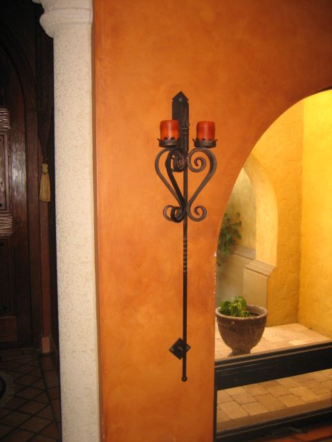 2 Candle Long Wall Sconce Corded Wall Sconce Candle Wall Sconces Living Room Crystal Wall Sconces