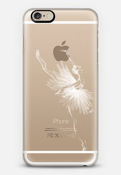 Casetify iPhone 6 Classic Snap Case - Odette Ballerina | Ballet by Pointebrush #Casetify