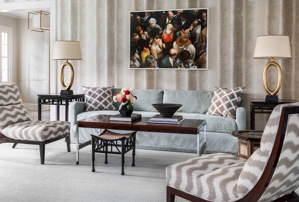 Greenwich — Kevin Isbell Interiors  #interiordesign #interiorinspiration #livingroom