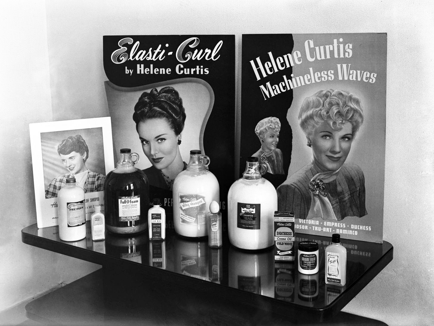 Helene Curtis Hair Products June 1948 Vintage 1940s Hair 1940s Hairstyles Vintage Hairstyles Vintage