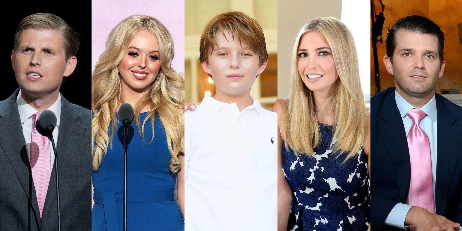 идеальное место фото дональда трампа и его семьи что раскрасив все