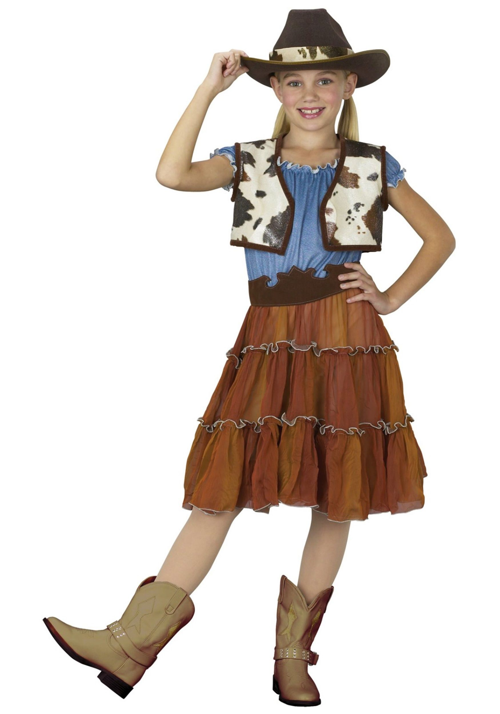western cowgirl home made costume | Kids Cowgirl Costume | Halloween ...