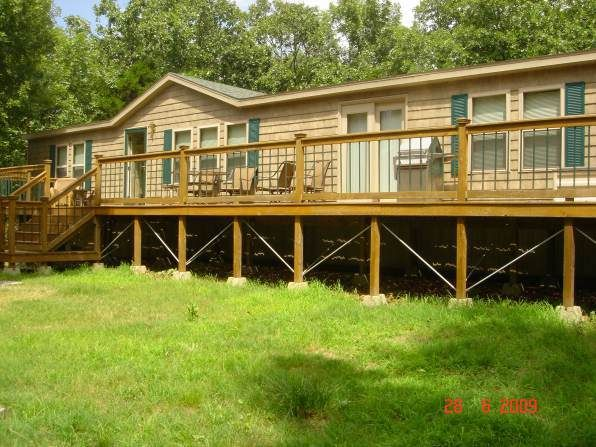 Rustic Cabin Manufactured Home Remodel | Home (Mobile ... on