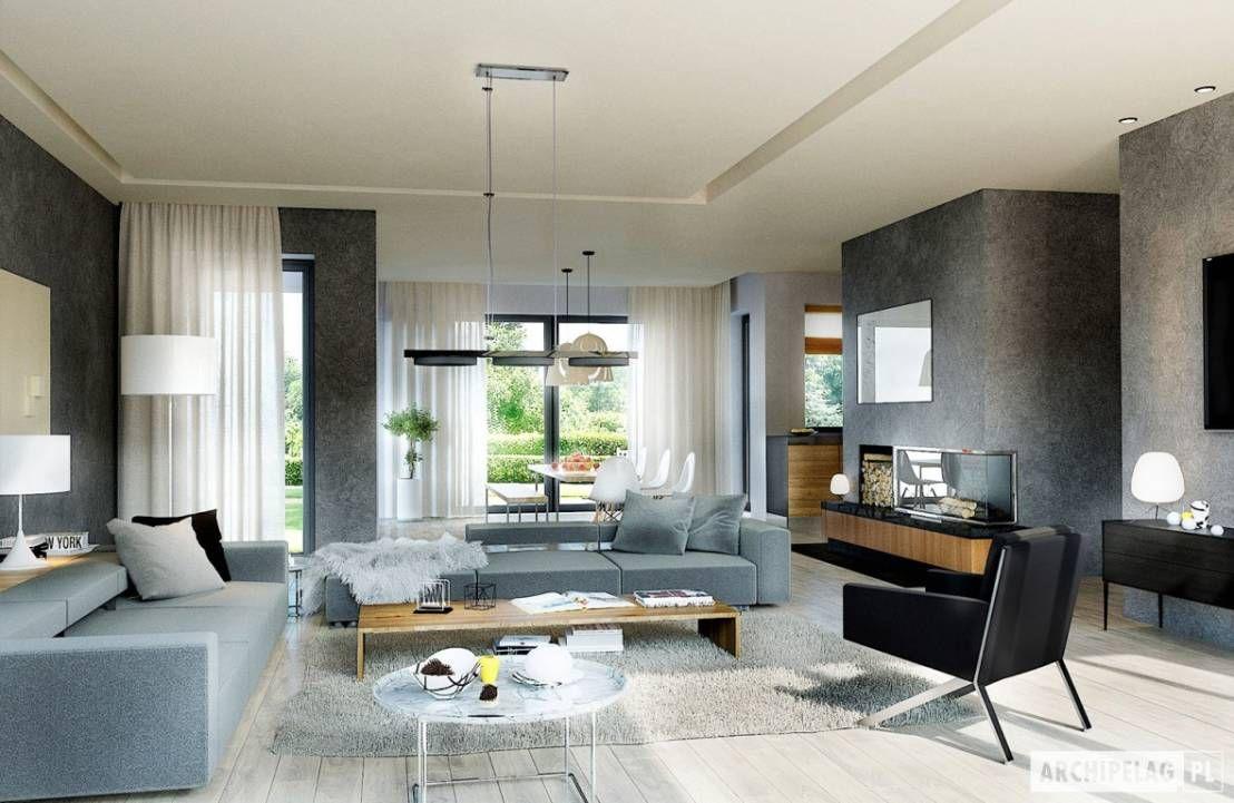 Wohnzimmer des modernen interieurs des hauses ein modernes haus ganz nach euren vorstellungen  living rooms
