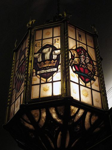 Lantern in Middle Temple Hall ~ London, England